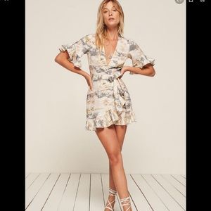 NWT Reformation Kelsey dress faithfull the brand